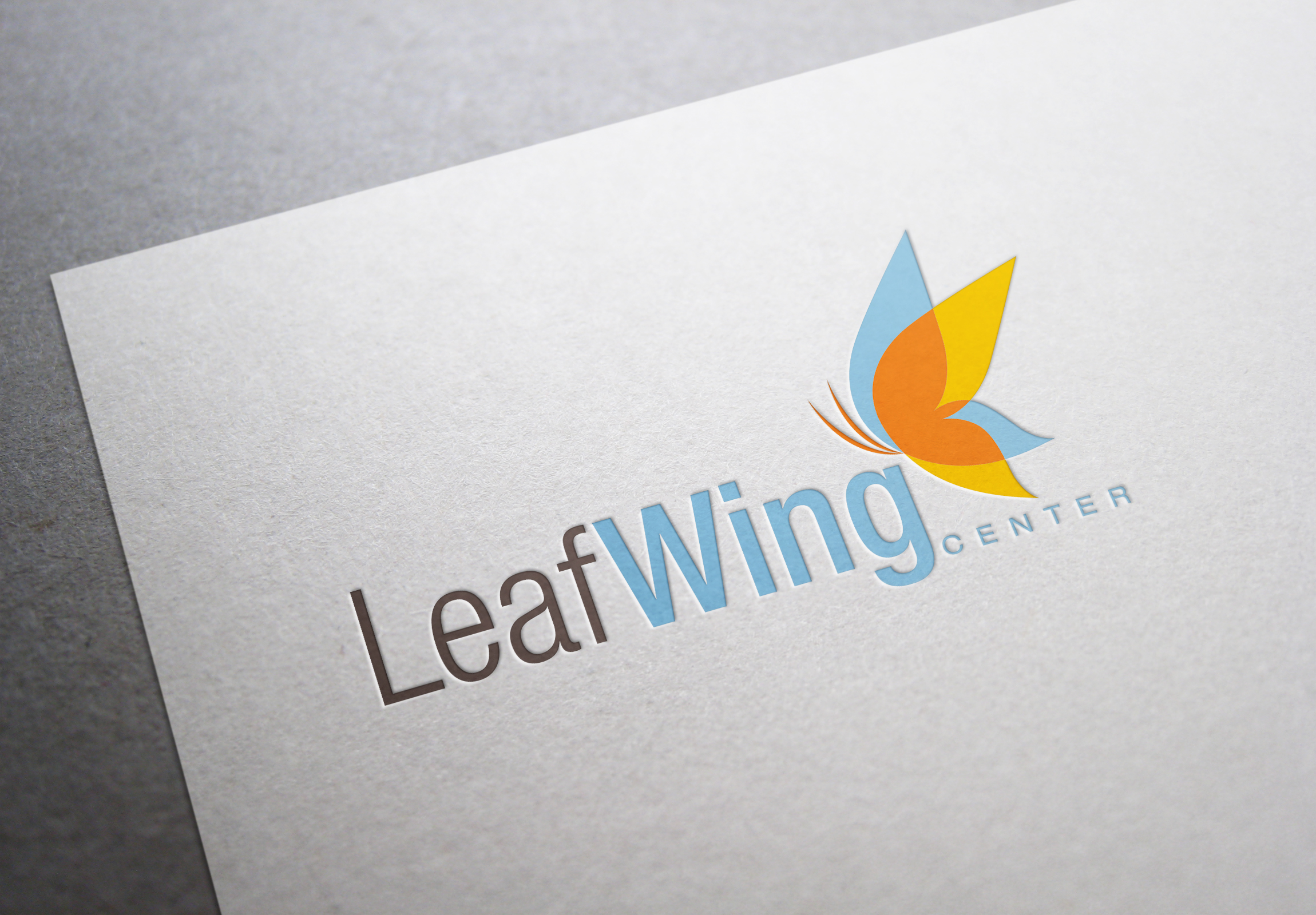 LeafWing Center Logo