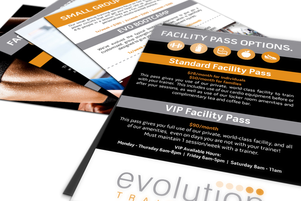 Flyers and brochures are the best face to face marketing tools. We offer short run pricing on these items also!