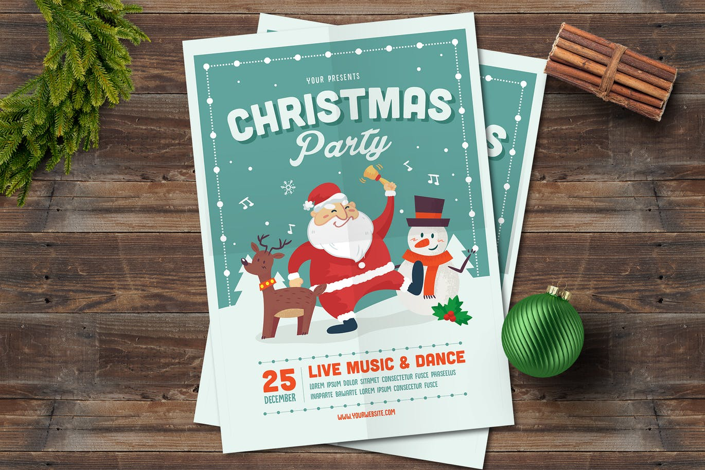 Christmas Holiday Cards And Invitations Amberblue Media