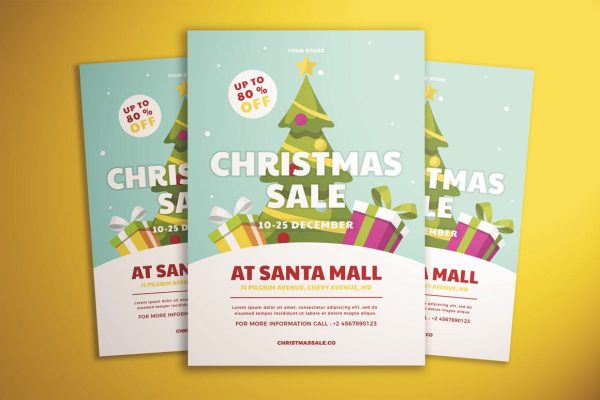 Holiday Sale Flyer 2
