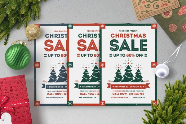 Holiday Sale Flyers 5