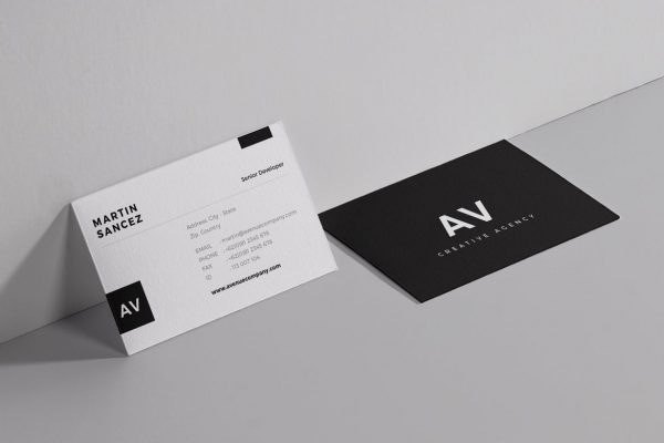 business card template 14