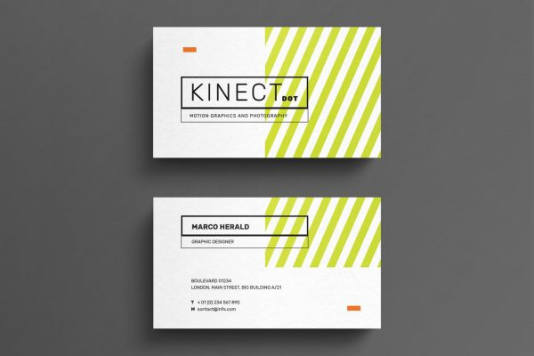 business card template 23