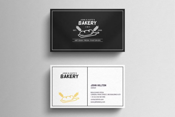 business card template 25