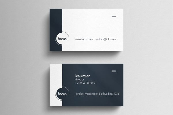business card template 28