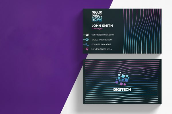 business card template 45