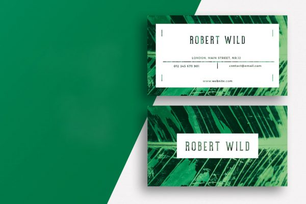 business card template 7