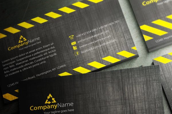 business card template 8