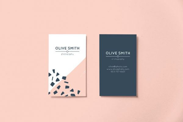 business card template 9A