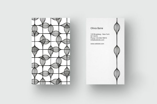 business card template 49