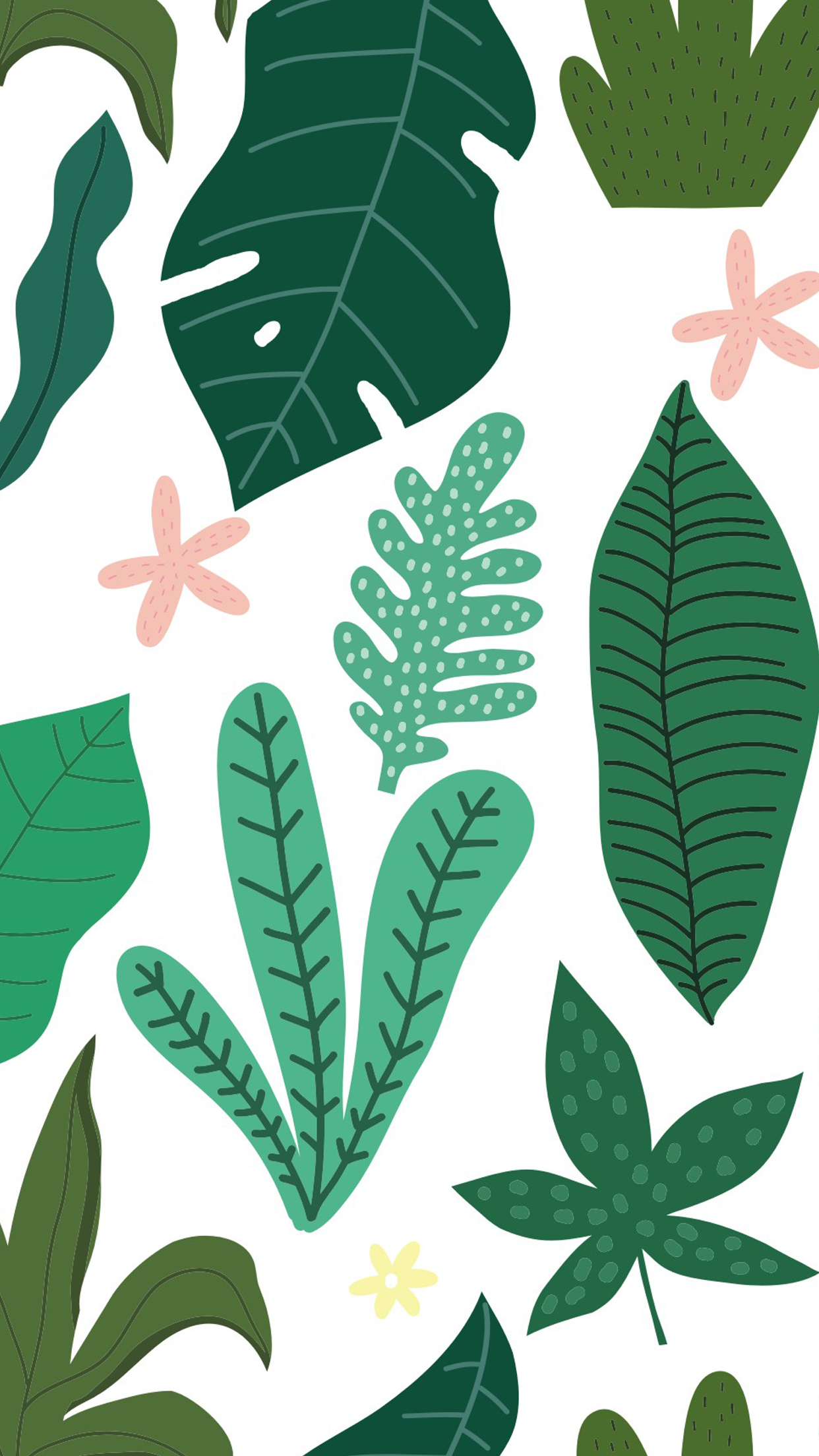Tropical Leaves Mobile