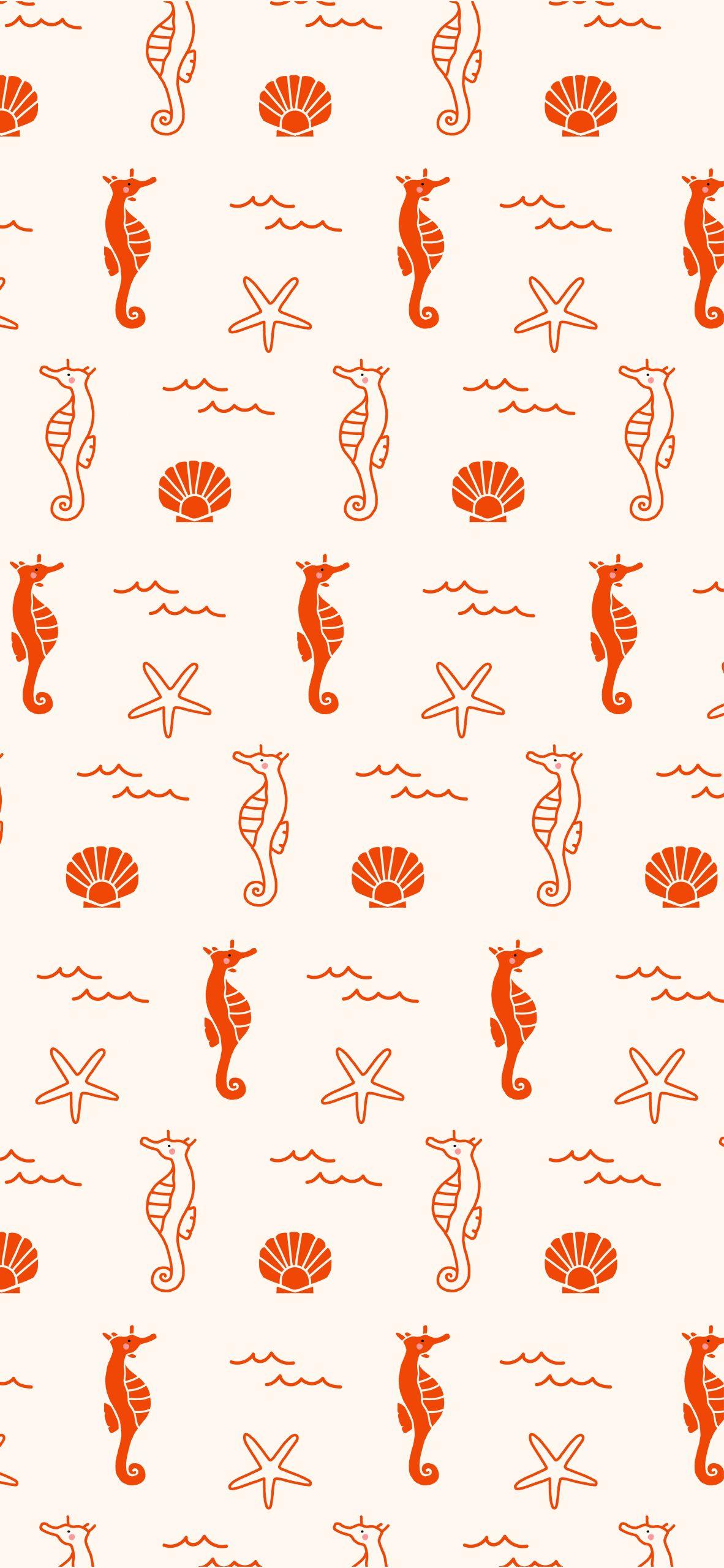 seahorse mobile wallpaper